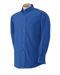 Men Long Sleeve Wrinkle Resistant Oxford Shirt