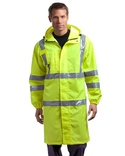 Ansi Class 3 Long Waterproof Rain Coat