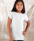 Girls Fine Jersey Longer Length Cotton T