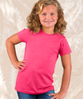 Girls' Fine Jersey Vintage Blend Longer Length T