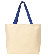 Gemline Colored Handle Tote