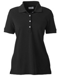 Women Combed Cotton Piqué Polo