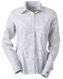 Women Ez Tech Check Pattern Woven Shirt