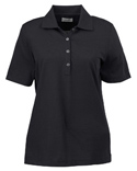Women High Twist Cotton Tech Polo