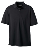 Men Combed Cotton Piqué Polo