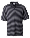 Men Dual Tone Piqué Stripe Polo