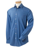 Men Executive Performance Broadcloth With Spread Collar Shirt