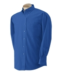 Men Long Sleeve Wrinkle Resistant Oxford Shirt