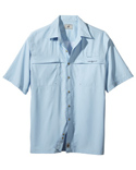 Men Peninsula Short Sleeve Performance Fishing Shirt