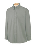 Men Wrinkle Resistant Blended Pinpoint Oxford Shirt