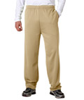 Adult Performance Fleece Pants With Hemmed Legs