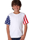 Code V Youth Jersey Stars & Stripes Tee
