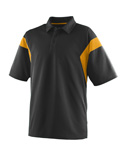 Men Wicking Textured Sideline Sport Shirt