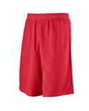 Kids Longer Length Mini Mesh League Short