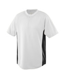 Boys Wicking Color Block Two Button Jersey